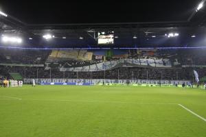 Duisburg Choreo gegen Uerdingen 04-11-2019