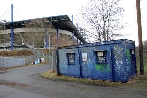 Gästeeingang MSV Arena Duisburg
