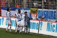 Die Zebras jubeln! Der MSV Duisburg geht bei Union Berlin in Führung