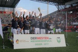 Niederrheinpokalsieger MSV Duisburg 2017