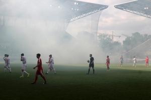 Pyroshow MSV Ultras in Essen