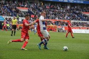 Spielszene MSV Duisburg Fortuna Düsseldorf