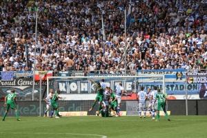 Support Duisburg Fans gegen Bochum