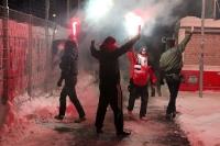 Pyroshow von Partizan Minsk in Babelsberg