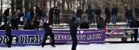 Schneeballschlacht zwischen Tebe und Partizan Minsk