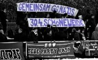 Tebe beim Soli-Spiel gegen Partizan Minsk
