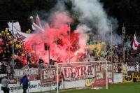 Bengalos & Rauch: Freundschaftsspiel SV Babelsberg 03 vs. FC St. Pauli