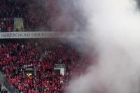 Mächtig Rauch über dem Kölner Block