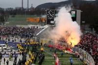 Pyrotechnik beim Fußball