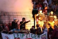 Pyrotechnik beim Berliner Pokalfinale Stern 1900 - BFC Dynamo (Quelle: Foto des BFC Dynamo)