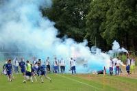 Pyrotechnik beim Weißenseer FC II