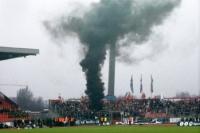 Rauchsäule im Fortuna-Block in Braunschweig, 2004
