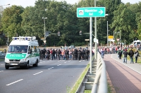 Abmarsch der Leipziger nach Spindlersfeld