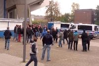 Ausschreitungen RB Leipzig in Bochum 2015
