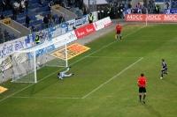 Daniel Frahn verwandelt den Elfmeter zum 3:0 beim 1. FC Magdeburg
