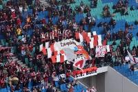 Fans von RB Leipzig in der Red Bull Arena