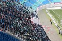 Fanblock der Anhänger von RB Leipzig in der Red Bull Arena
