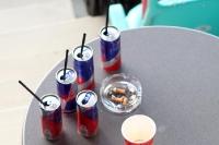 passende Erfrischungsgetränke in der Red Bull Arena Leipzig
