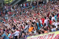 Leipziger Derby mit viel Kampf und Emotion