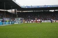 Spielszenen RB Leipzig beim VfL Bochum 2015