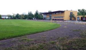 Neue Tribüne BVG-Stadion