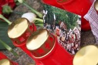Blumen und Kerzen für eine Verstorbene: Die deutsche Fankultur
