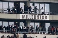 Millerntor - Heimspiel gegen Hansa Rostock ohne Gästefans