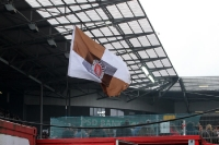 Stadion am Millerntor beim Spiel gegen Hansa Rostock