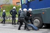 Festnahme der Hamburger Polizei