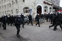 Laufeinsatz der Hamburger Polizei
