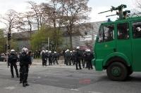 Die Hamburger Polizei hat nach dem St. Pauli-Spiel zu zun