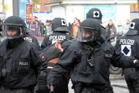 Die Polizei zieht sich zurück