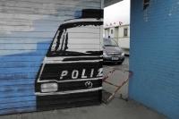 Graffiti am Stadion am Millerntor