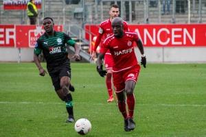 Amara Conde Rot-Weiss Essen - FC Groningen Testspiel 2020