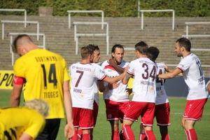 Felix Backszat Torjubel BVB U23 gegen RWE Spielszenen 20-09-2020