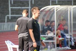 Enrico Maaßen BVB U23 gegen RWE Spielszenen 20-09-2020
