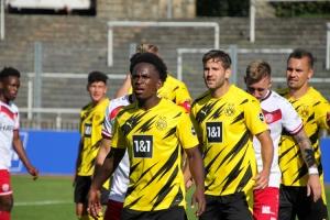 BVB U23 gegen RWE Spielszenen 20-09-2020