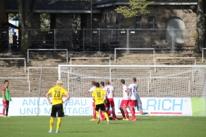 Taylan Duman Freistoßtor BVB U23 gegen RWE 20-09-2020