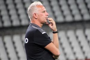 Trainer Christian Neidhart RWE gegen Ahlen 23-09-2020