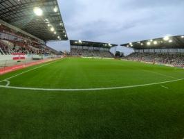 Stadion Essen ausverkauft zu Corona RWE Fortuna  01-10-2020