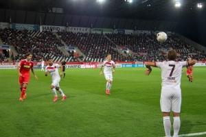 Spielszenen RWE gegen Fortuna Düsseldorf 02-10-2020
