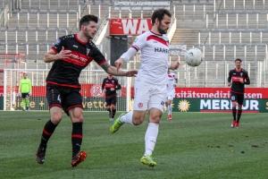 Simon Engelmann Rot-Weiss Essen vs. FC Wegberg Beek Spielfotos 19-12-2020