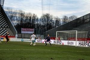 Joshua Endres Rot-Weiss Essen vs. FC Wegberg Beek Spielfotos 19-12-2020