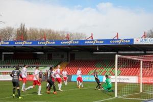 Rot-Weiß Oberhausen vs. Rot-Weiss Essen 27-03-2021 Spielszenen