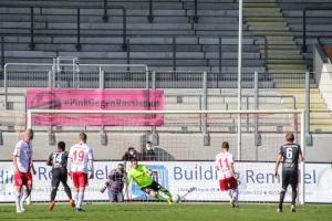 Elfmeter Sven Kreyer Rot-Weiß Oberhausen vs. RWE 27-03-2021