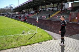 Sven Lewerenz Rot-Weiß Oberhausen vs. Rot-Weiss Essen 27-03-2021