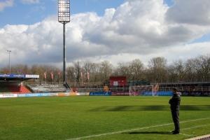 Mike Terranova Rot-Weiß Oberhausen vs. Rot-Weiss Essen 27-03-2021 Spielszenen