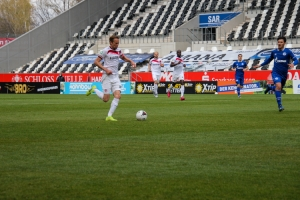 Dennis Grote Rot-Weiss Essen gegen Schalke 04 II Spielszenen 03-04-2021