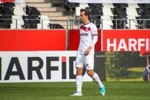 Maximilian Pronichev Rot-Weiss Essen gegen Schalke 04 II Spielszenen 03-04-2021