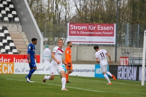 Cedric Harenbrock Torjubel Rot-Weiss Essen vs. Schalke 03-04-2021